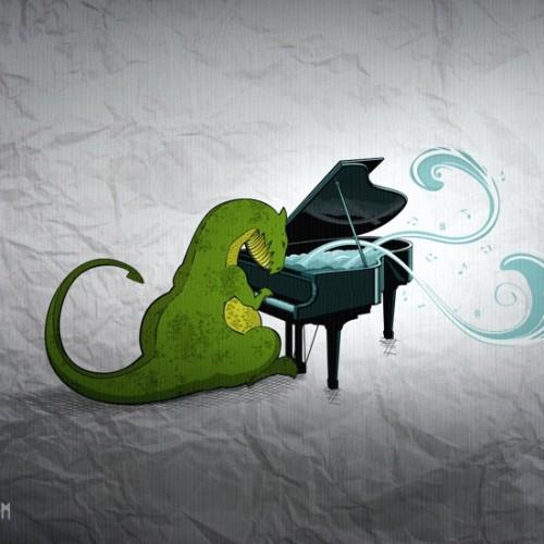 Piano Dragon